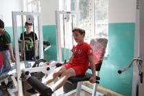 8. Церемония открытия спортивного зала в селе Хвце Дзауского района