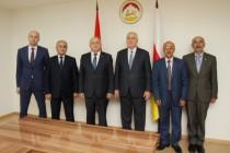 9. Встреча с делегацией Республики Арцах