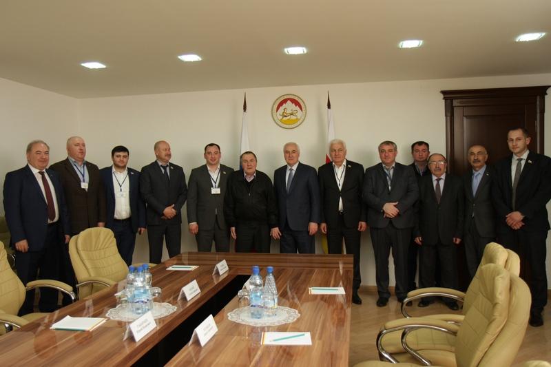 Встреча с делегацией Парламента Республики Северная Осетия-Алания