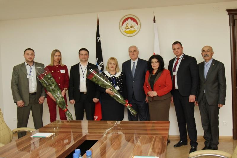 Встреча с делегацией Донецкой Народной Республики