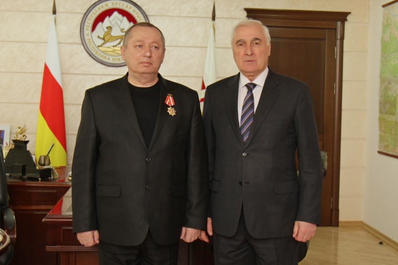 Леонид Тибилов: «Награда нашла героя»