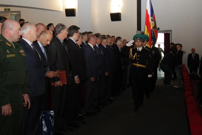Торжественное собрание по случаю 25-й годовщины образования Комитета государственной безопасности (часть I)