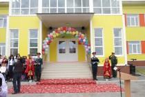 1. Анатолий Бибилов поздравил российских военнослужащих с открытием детского сада