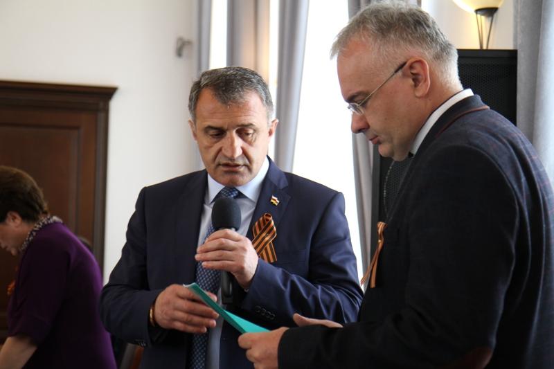 Анатолий Бибилов: «Мы горды героизмом народа Осетии»