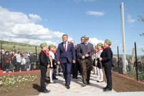 1. Церемония открытия Мемориального комплекса павшим жителям с. Прис Цхинвальского района