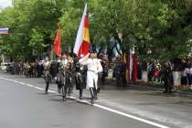 1. Военный парад в честь празднования 72-й годовщины Великой Победы (часть I)