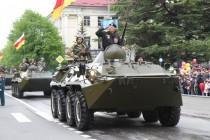 1. Военный парад в честь празднования 72-й годовщины Великой Победы (часть III)