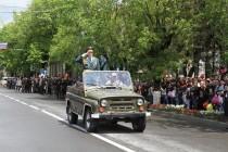 2. Военный парад в честь празднования 72-й годовщины Великой Победы (часть I)