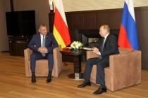 3. Встреча с Президентом Российской Федерации Владимиром Путиным