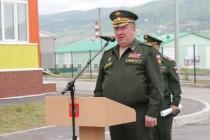 3. Анатолий Бибилов поздравил российских военнослужащих с открытием детского сада