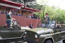 3. Военный парад в честь празднования 72-й годовщины Великой Победы (часть I)