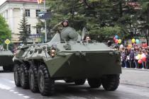 3. Военный парад в честь празднования 72-й годовщины Великой Победы (часть III)