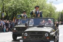 4. Военный парад в честь празднования 72-й годовщины Великой Победы (часть I)