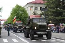 4. Военный парад в честь празднования 72-й годовщины Великой Победы (часть III)