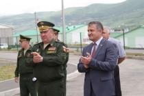6. Анатолий Бибилов поздравил российских военнослужащих с открытием детского сада