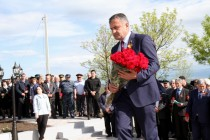 6. Церемония открытия Мемориального комплекса павшим жителям с. Прис Цхинвальского района
