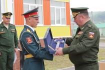 7. Анатолий Бибилов поздравил российских военнослужащих с открытием детского сада