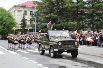 8. Военный парад в честь празднования 72-й годовщины Великой Победы (часть I)