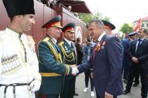 8. Военный парад в честь празднования 72-й годовщины Великой Победы (часть III)