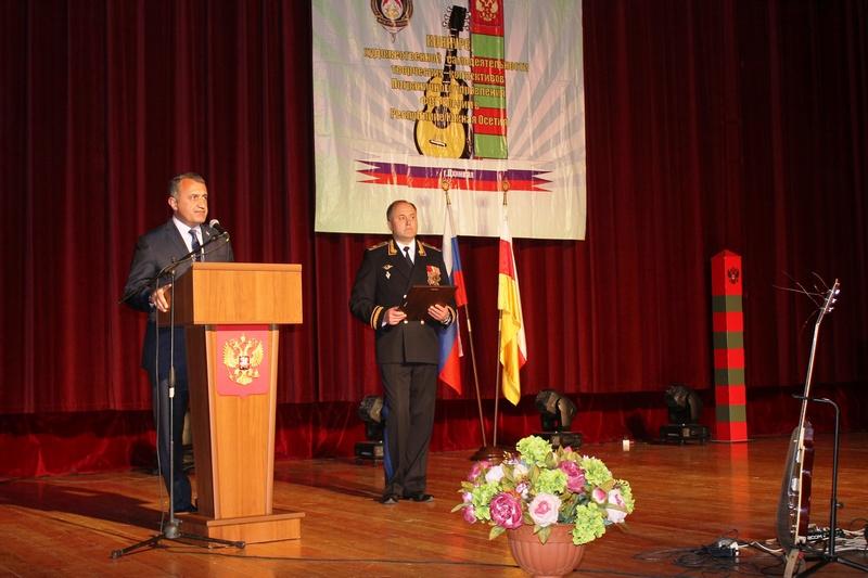 Анатолий Бибилов поздравил служащих Пограничного управления ФСБ Российской Федерации в Республике Южная Осетия с профессиональным праздником