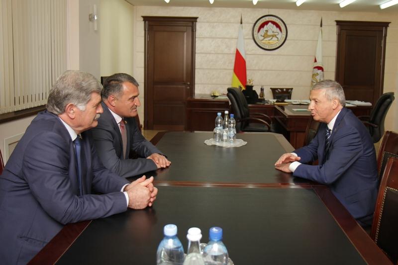 Анатолий Бибилов: «Большая часть процессов интеграции с Россией связана с Северной Осетией»