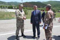 1. Посещение военного полигона Министерства обороны (часть I)