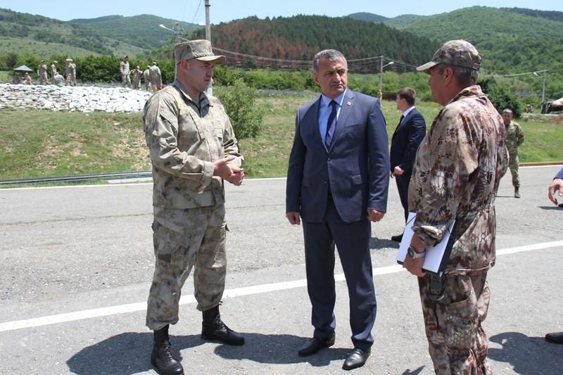 Посещение военного полигона Министерства обороны (часть I)
