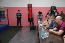 2. Открытие боксерского зала в стенах Детско-юношеской спортивной школы г. Цхинвал