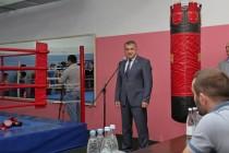 3. Открытие боксерского зала в стенах Детско-юношеской спортивной школы г. Цхинвал