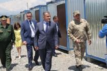 4. Посещение военного полигона Министерства обороны (часть I)
