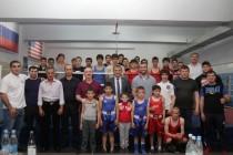 9. Открытие боксерского зала в стенах Детско-юношеской спортивной школы г. Цхинвал