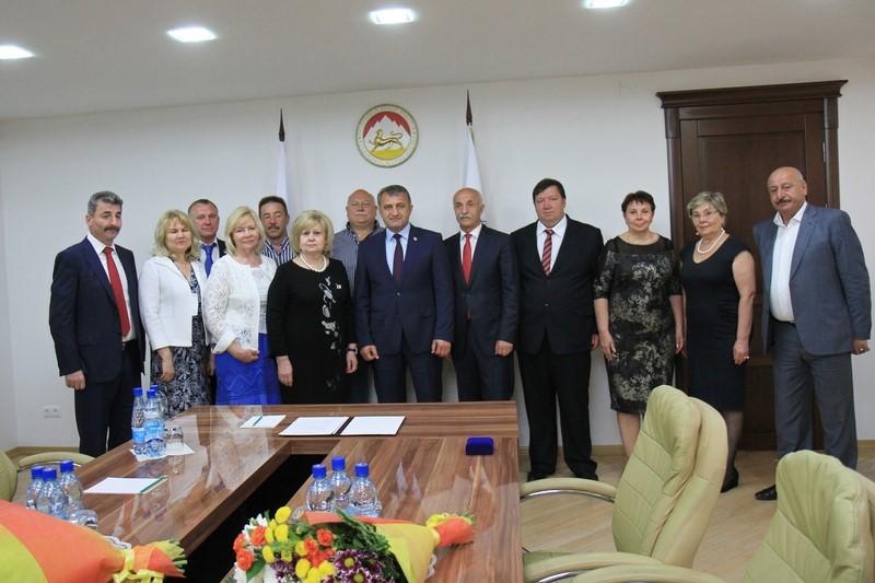 Встреча с делегацией из Самарской области