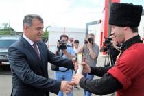 1. Официальный визит в Республику Абхазия (часть I)