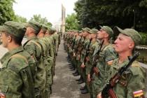 3. Торжественная церемония приведения к присяге новобранцев Вооруженных сил Республики Южная Осетия