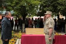 4. Торжественная церемония приведения к присяге новобранцев Вооруженных сил Республики Южная Осетия