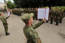 5. Торжественная церемония приведения к присяге новобранцев Вооруженных сил Республики Южная Осетия