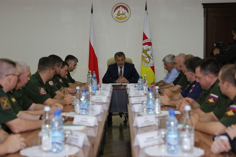 Встреча с делегацией Министерства обороны Российской Федерации