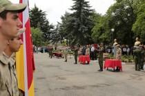 7. Торжественная церемония приведения к присяге новобранцев Вооруженных сил Республики Южная Осетия
