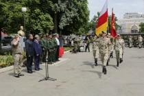 8. Торжественная церемония приведения к присяге новобранцев Вооруженных сил Республики Южная Осетия