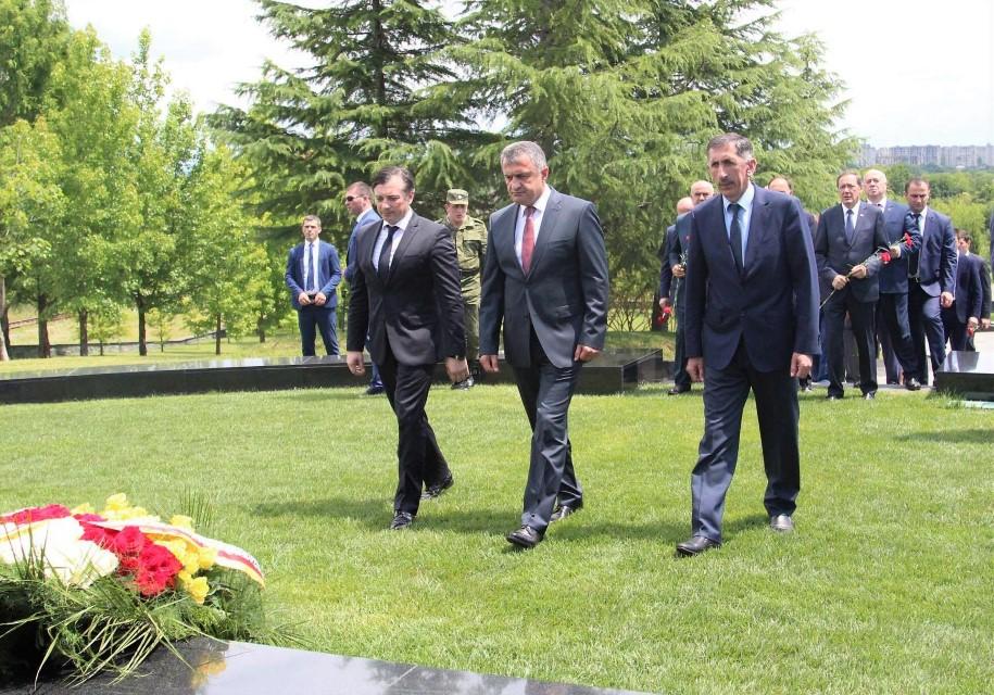 Анатолий Бибилов прибыл в Республику Абхазию