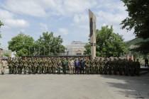 9. Торжественная церемония приведения к присяге новобранцев Вооруженных сил Республики Южная Осетия