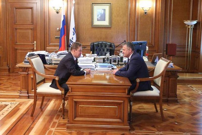 Анатолий Бибилов: «Газпром» готов профинансировать разведение газовых сетей на территории Южной Осетии»