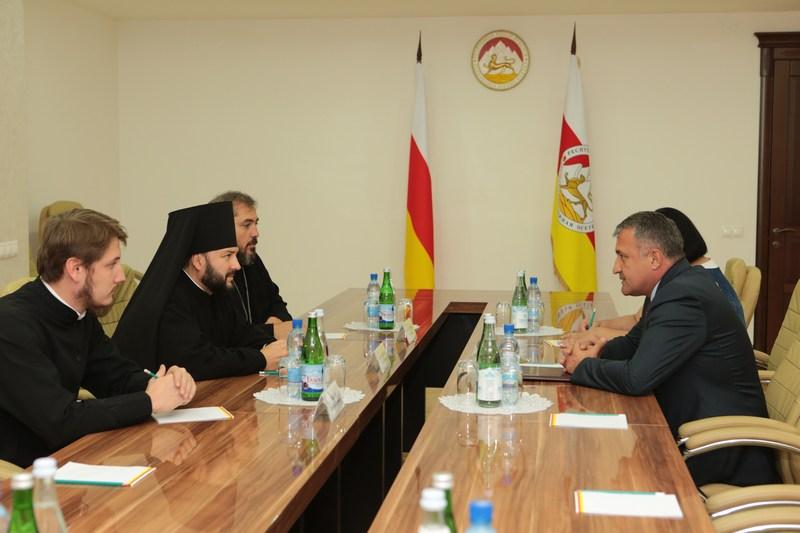 Встреча с Епископом Владикавказским и Аланским Леонидом