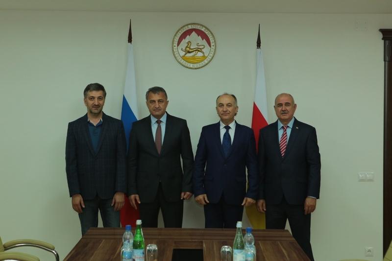 Встреча с делегацией Карачаево-Черкесской Республики