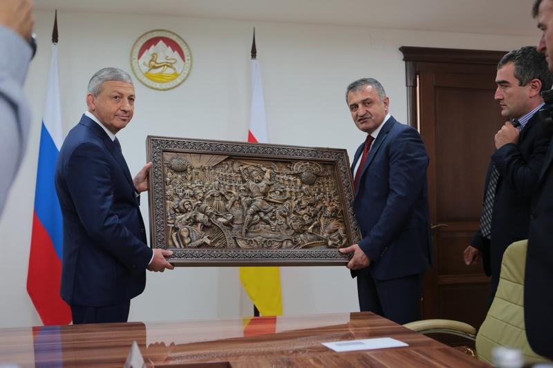 Встреча с делегацией Республики Северная Осетия-Алания