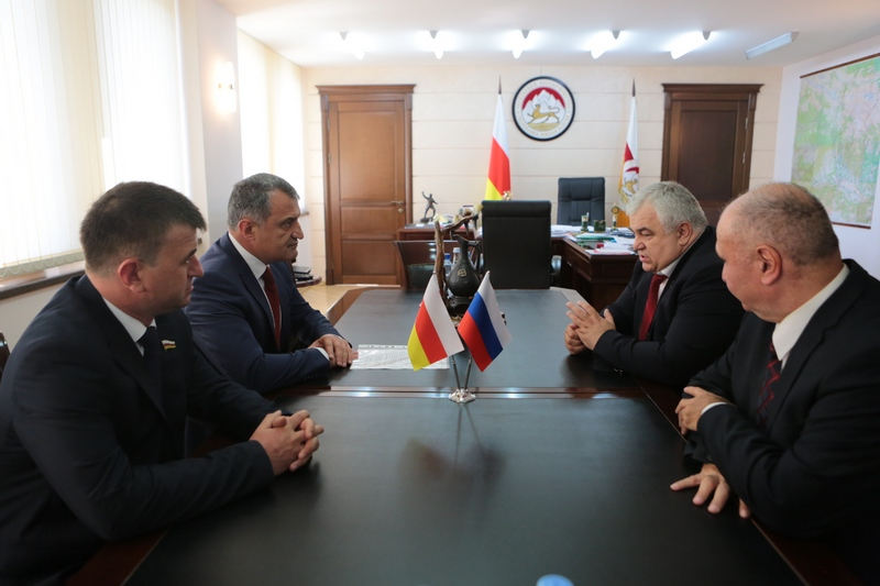 Встреча с депутатом Государственной думы Российской Федерации Казбеком Тайсаевым