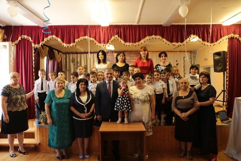 Праздник в Цхинвальском детском саду №1 «Хуры тын»