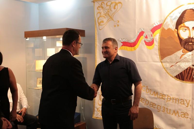 Встреча с участниками международного проекта «Аланский след»