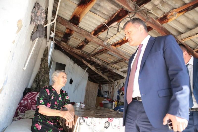 Анатолий Бибилов пообещал оказать помощь нуждающейся семье Джиоевых