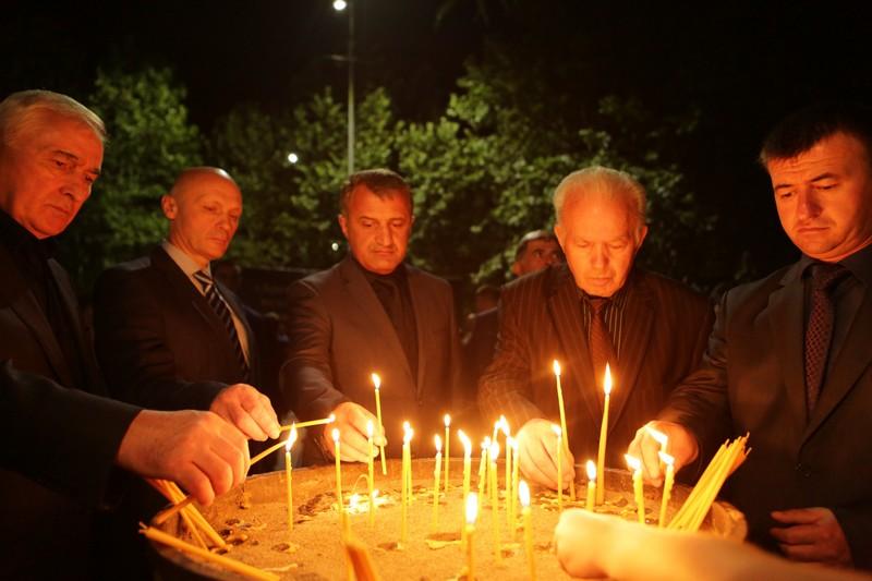 Анатоий Бибилов: «В благодарной памяти народа Южной Осетии навсегда останутся имена героев»